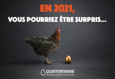 En 2021, vous pourriez être surpris... avec Quaternaire