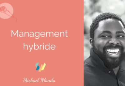 Interview de Michael NLANDU sur le Management Hybride - Salon du Management