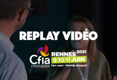 Replay vidéo - Conférence Quaternaire au CFIA Rennes 2021