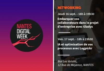 Quaternaire présent à Nantes Digital Week les 16 et 17 septembre 2021
