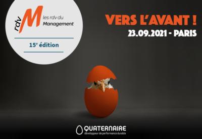 Rendez-vous du Management - 15e édition - Vers l'avant !